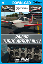 PA28R Turbo Arrow III/IV (X-Plane 11)