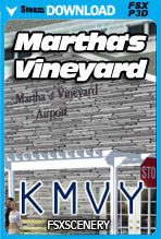 Martha's Vineyard Airport KMVY (FSX/P3Dv3-v4)