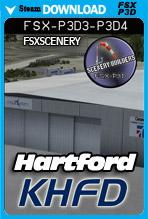 Hartford-Brainard Airport KHFD (FSX/FSX:SE/P3Dv3-v4)