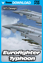 Eurofighter Typhoon Pro 6 (FSX)
