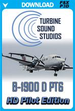 Beechcraft B1900 PT6 HD Pilot Edition Sound Pack (FSX/P3D)