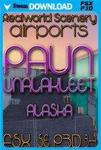 Unalakleet, Alaska PAUN (FSX/FSX:SE/P3Dv3-v4)
