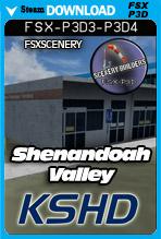 Shenandoah Valley Regional Airport KSHD (FSX/FSX:SE/P3Dv3-v4)
