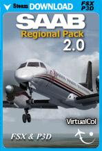 SAAB Regional Pack V2 (FSX/FSX:SE/P3Dv1-v4)