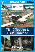TB-10 Tobago & TB-20 Trinidad (X-Plane 11)