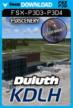 Duluth International Airport - KDLH (FSX/FSX:SE/P3Dv3-v4)