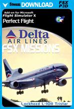 FSX Missions - Delta L-1011 Tristar (FSX/P3Dv1-v4)