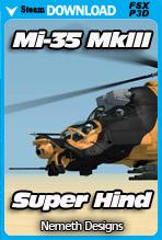"Mil Mi-35 MkIII ""Super Hind"" (FSX/FSX:SE/P3Dv4)"