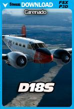 Carenado D18S (FSX/FSX:SE/P3Dv3-v4)