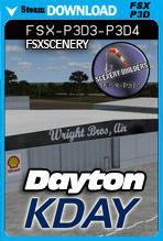 Dayton International Airport KDAY (FSX/FSX:SE/P3Dv3-v4)
