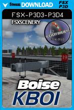 Boise Air Terminal / Gowen Field KBOI (FSX/FSX:SE/P3Dv3-v4)