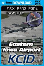 Eastern Iowa Airport KCID (FSX/FSX:SE/P3Dv3-v4)