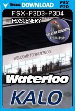 Waterloo Regional Airport KALO (FSX/FSX:SE/P3Dv3-v4)