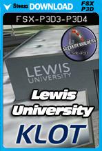 Lewis University Airport [KLOT] (FSX/FSX:SE/P3Dv3-v4)