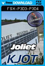 Joliet Regional Airport [KJOT] (FSX/FSX:SE/P3Dv3-v4)