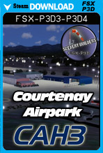 Courtenay Airpark [CAH3] (FSX/FSX:SE/P3Dv3-v4)