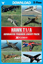 Hawk T1/A Advanced Trainer - Livery Pack (X-Plane 11)