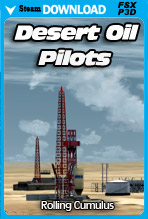 Desert Oil Pilots (FSX/FSX:SE/P3Dv4)