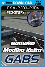 Bamako's Modibo Keita International Airport GABS (FSX/FSX:SE/P3Dv3-v4)