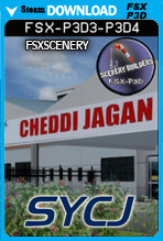 Cheddi Jagan International Airport SYCJ (FSX/FSX:SE/P3Dv3-v4)