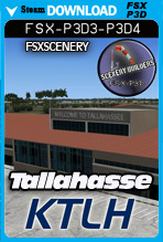 Tallahassee International Airport KTLH (FSX/FSX:SE/P3Dv3-v4)