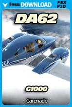 Carenado DA62 G1000 (FSX/FSX:SE/P3Dv3-v4)