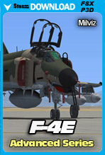 Advanced Series: F-4E Phantom II (FSX/FSX:SE/P3Dv2-v4)