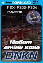 Mallam Aminu Kano International Airport - DNKN (FSX/FSX:SE/P3Dv3-v4)