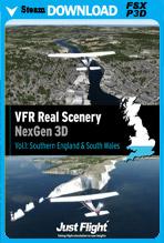 VFR Real Scenery NexGen 3D – Vol. 1: Southern England & South Wales (FSX/FSX:SE/P3Dv1-v4)
