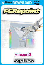 FSREPAINT v2 - Aircraft Repainting Tool (P3D/FSX/FSX:SE)