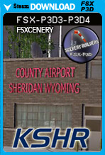 Sheridan Airport - KSHR (FSX/FSX:SE/P3Dv3-v4)
