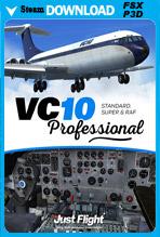 VC10 Professional - Standard, Super & RAF (FSX/FSX:SE/P3Dv1-v4)