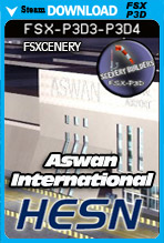 Aswan International Airport - HESN (FSX/FSX:SE/P3Dv3-v4)