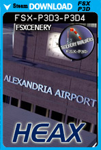 Alexandria International Airport - HEAX (FSX/FSX:SE/P3Dv3-v4)