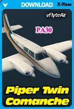 Piper PA30 Twin Comanche (X-Plane 11)