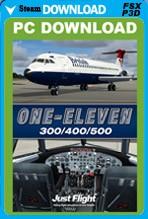 One-Eleven 300/400/500 (FSX/FSX:SE/P3D)