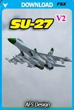 Sukhoi SU-27 V2 (FSX)