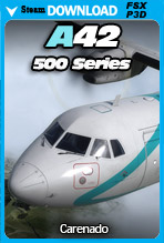 Carenado - A42 500 Series (FSX/FSX:SE/P3Dv3-v4)