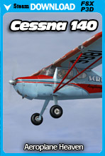 Cessna 140 (FSX/Steam/P3Dv3)