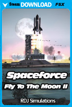 Fly To The Moon II - Spaceforce (FSX/FSX:SE)