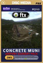 FTX: NA 3W5 Concrete Municipal Airport + BONUS WA56 Airport!