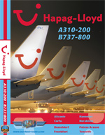 Just Planes DVD - Hapag Lloyd A310 & B737