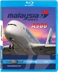 Just Planes BluRay - Malaysia Airlines A380