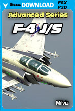 Advanced Series: F-4J/S Phantom II (FSX/FSX:SE/P3Dv2-v4)