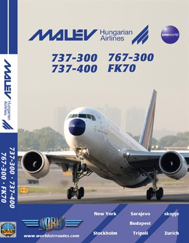 Just Planes DVD - Malev Hungarian Airlines