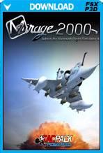 Mirage 2000C (FSX/FSX:SE/P3Dv1-v2)