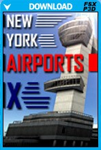 New York Airports X (FSX+P3D)