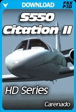 Carenado S550 Citation II HD SERIES (FSX/FSX:SE/P3Dv3,v4)