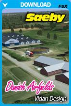 Danish Airfields X - Saeby for FSX