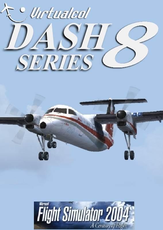 Dash 8 For FS2004